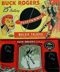 Buck Rogers Walkie Talkie Secret Decoder