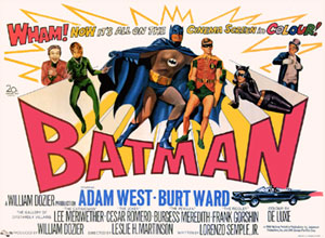 Vintage Batman Movie 1966
