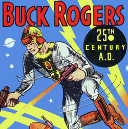 Vintage Buck Rogers Toys