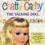 Vintage Chatty Cathy Talking Doll