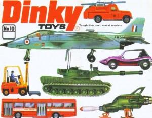 Vintage Dinky Die-Cast Metal Models