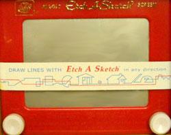 Vintage Etch a Sketch