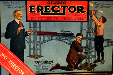 Vintage Gilbert Erector Sets