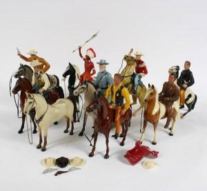 Hartland Plastics Cowboy Collectibles