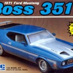 1971 Ford Mustang Boss 351 MPC Model Kit