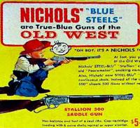 Vintage Nichols Blue Steels Cap Gun