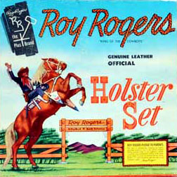 Vintage Roy Rogers Holster Set For Sale