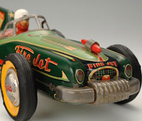 Vintage Buriki Japanese Tin Toys Cars