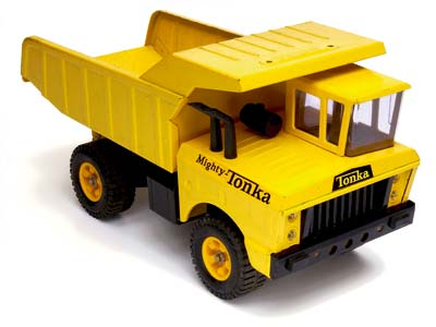 Mighty Metal Tonka Trucks